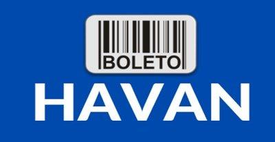 Boleto atrasado da Havan