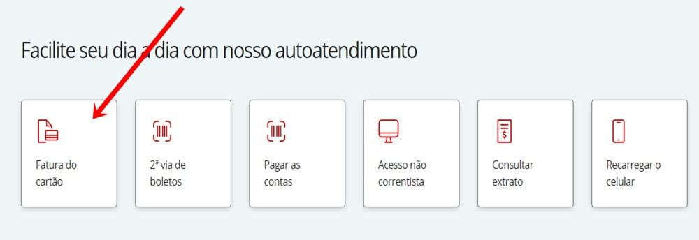 Fatura cartão Santander free Mastercard