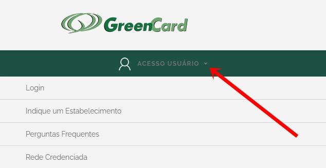 cartão green card